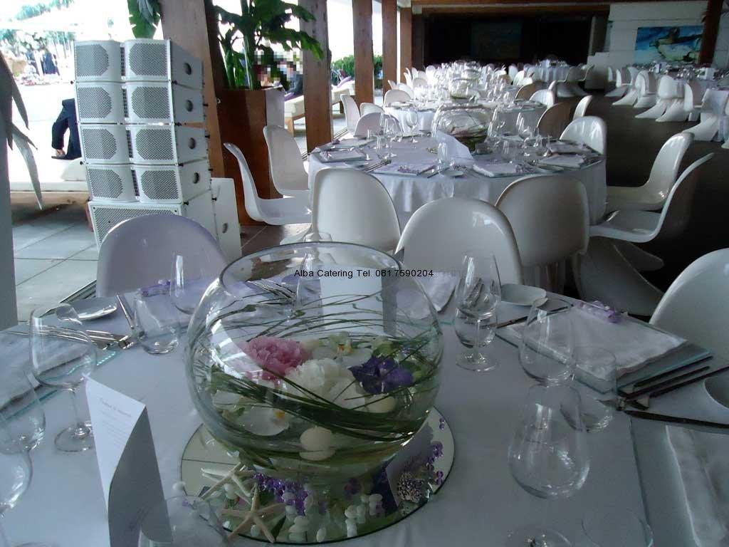 Allestimento sala tavoli rotondi alba catering - Il tavolo della roulette ...
