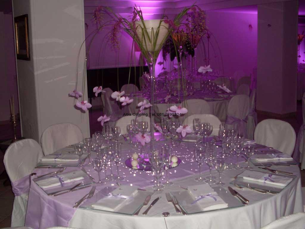 Alba catering59 luxury banqueting - Addobbi tavoli per 18 anni ...