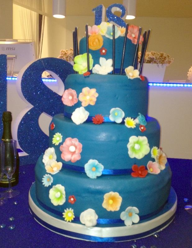 Le torte particolari per 18 compleanno di alba banqueting for Torte di compleanno particolari per uomo