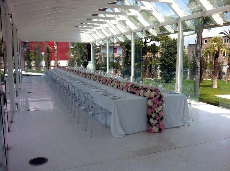 Addobbi floreali alba catering - Tavolo per prima comunione ...