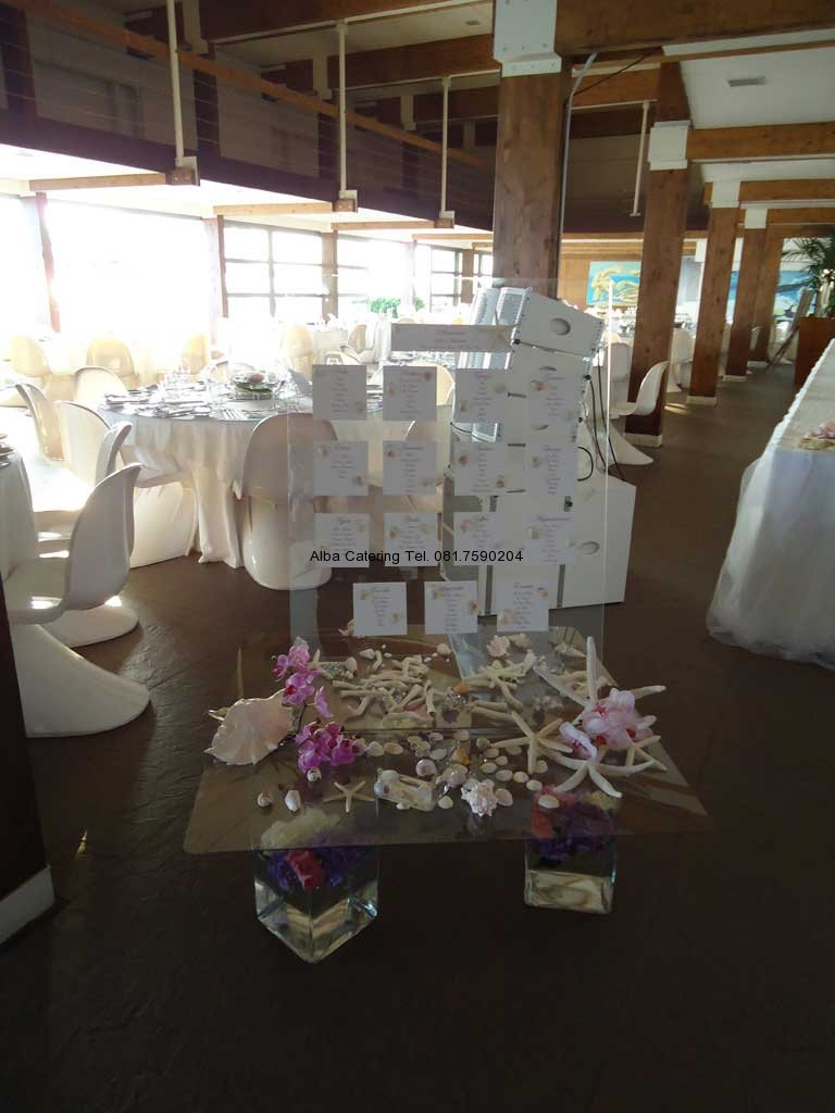 Tableau Matrimonio Spiaggia : Alba catering luxury banqueting matrimoni in spiaggia