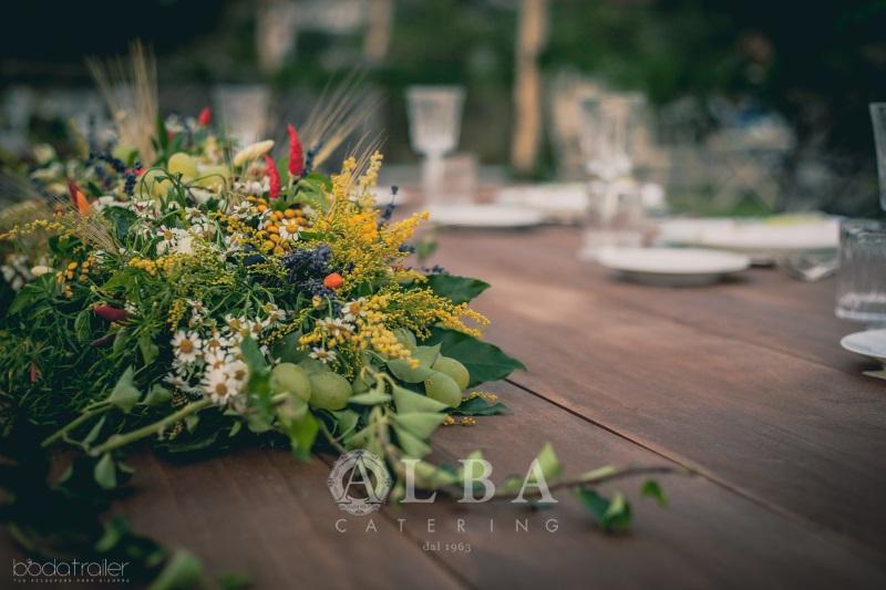 Centrotavola Matrimonio Country Chic : Centrotavola country chic per un matrimonio a stretto contatto con